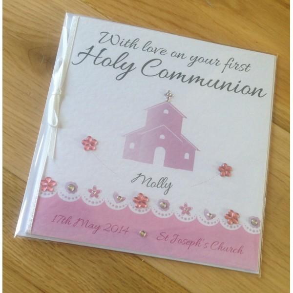 Church Themed Holy Communion / Christening Card