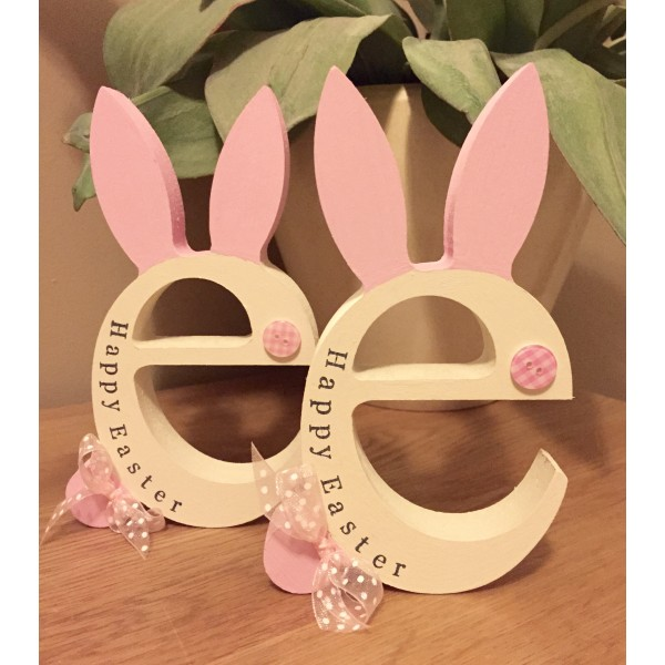 Personalised Happy Easter Bunny E Letter