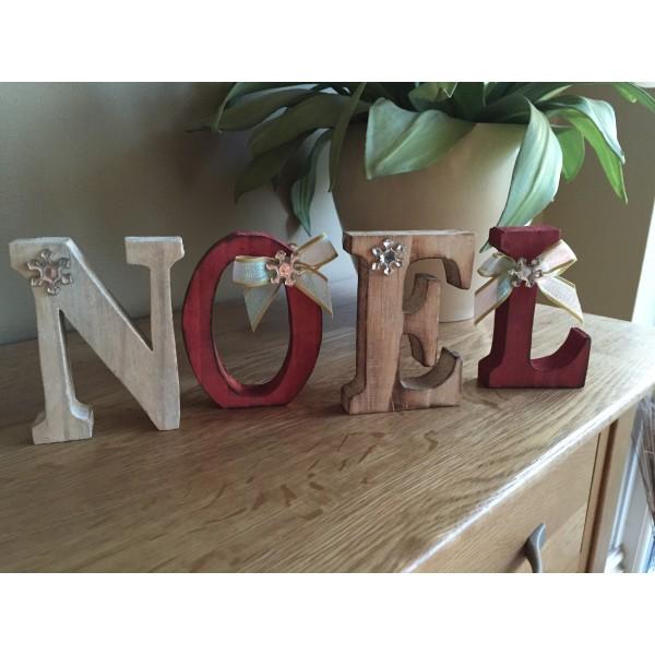 Noel Freestanding Christmas Letters