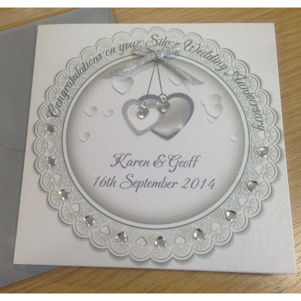 Circle of Love Special Anniversary Card