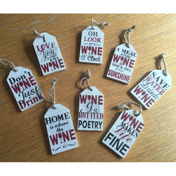 It's all about the wine -  tag selection
