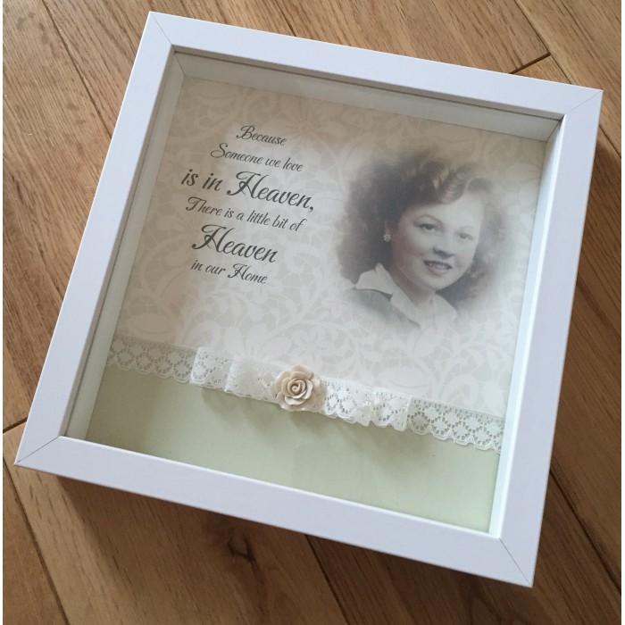e129e179427 Brand new Someone in Heaven Personalised Photo Frame in loving memory  picture OB92